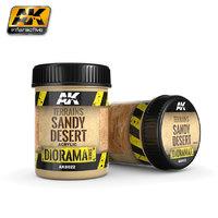 AK Acrylic Terrains Sandy Desert (250ml)