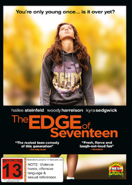 The Edge of Seventeen on DVD