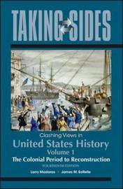 Clashing Views in United States History: v. 1 by Larry Madaras image