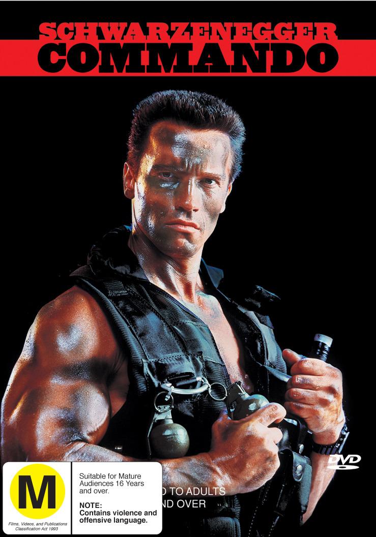Commando on DVD image