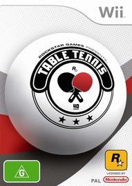 Rockstar Games presents Table Tennis for Nintendo Wii