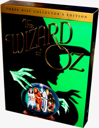 Wizard Of Oz, The - Three-Disc Collector's Edition (3 Disc Set) on DVD