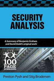 Security Analysis by Preston Pysh