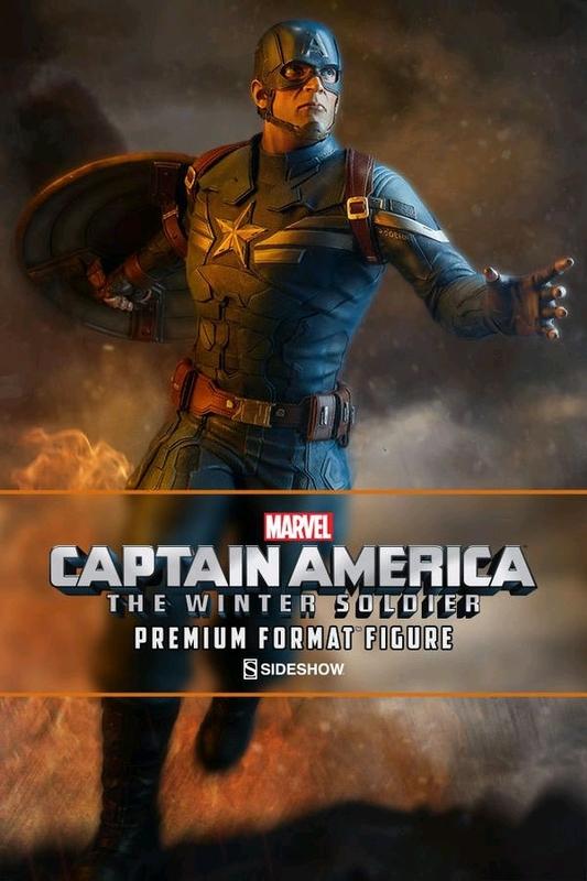 """Marvel: Captain America (Winter Soldier Ver.) - 22"""" Premium Format Figure"""