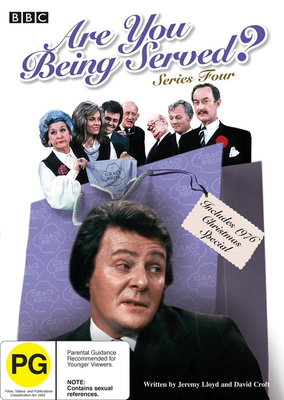 Are You Being Served? - Series 4 on DVD