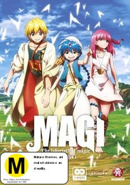 Magi: The Labyrinth of Magic - Collection 1 on DVD