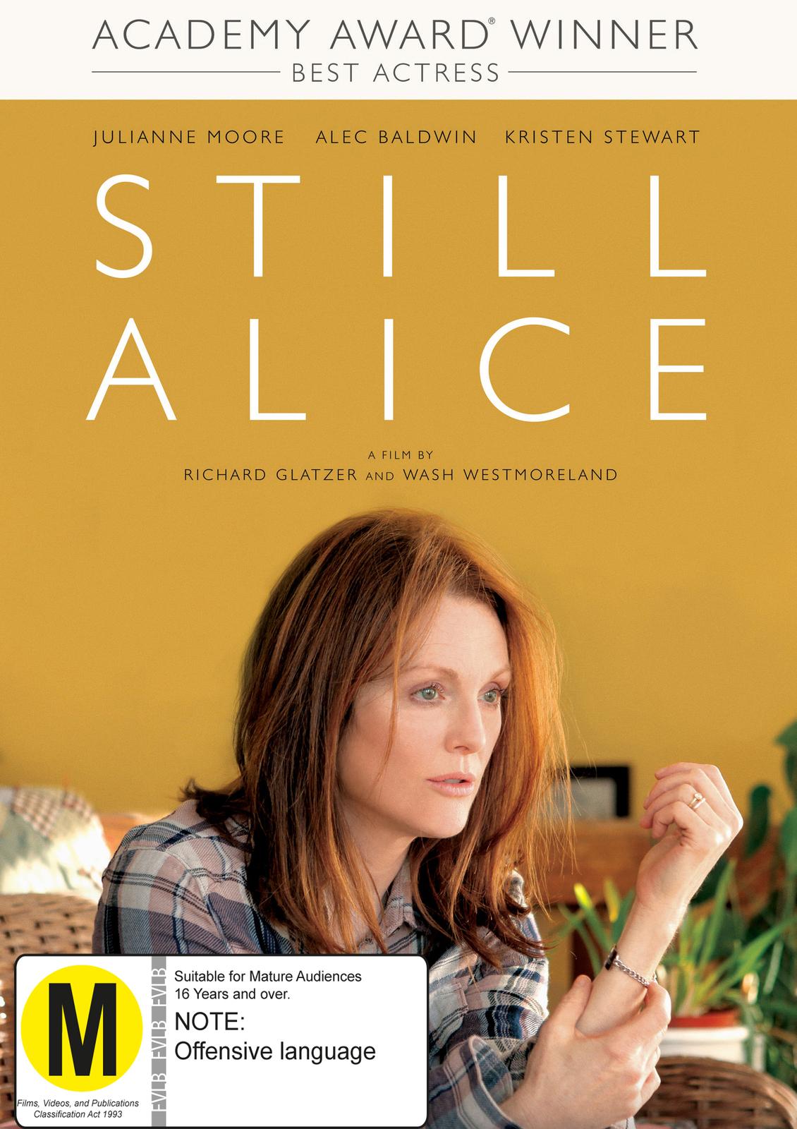 Still Alice on DVD image