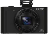 Sony DSCWX500B 18.2MP Cyber-shot W Series 30x Zoom Digital Camera (Black)