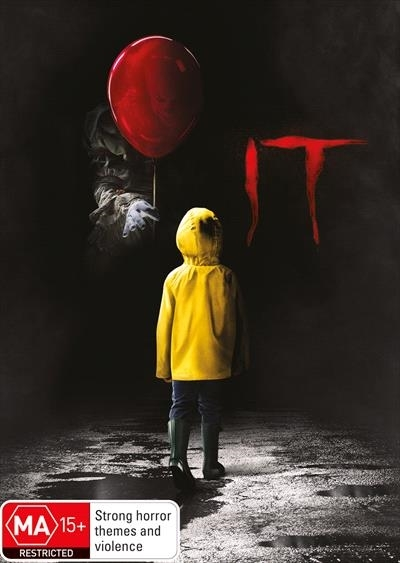 It (2017) on DVD image