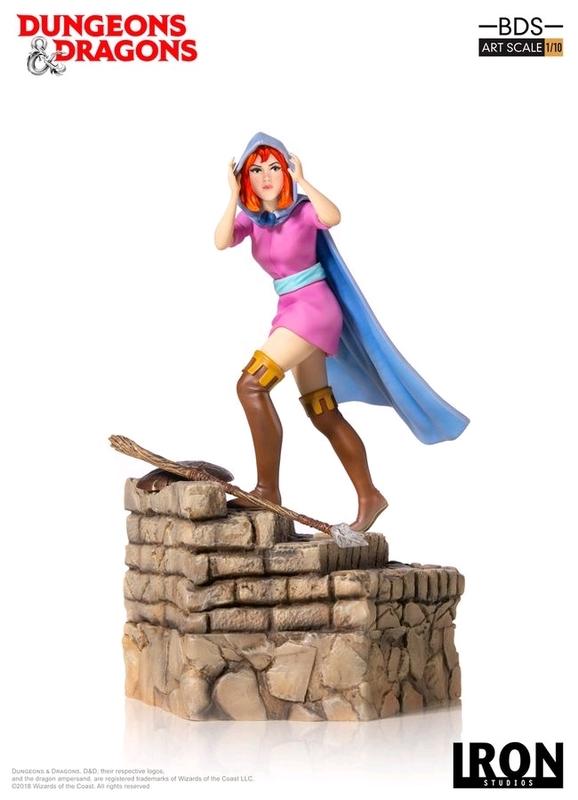 D&D (TV): Sheila the Thief - 1:10 Art Scale Statue