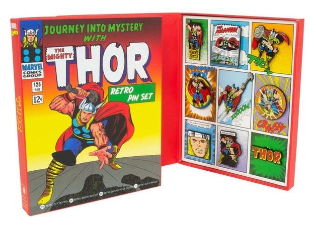 Marvel: Thor - Retro Pin Set