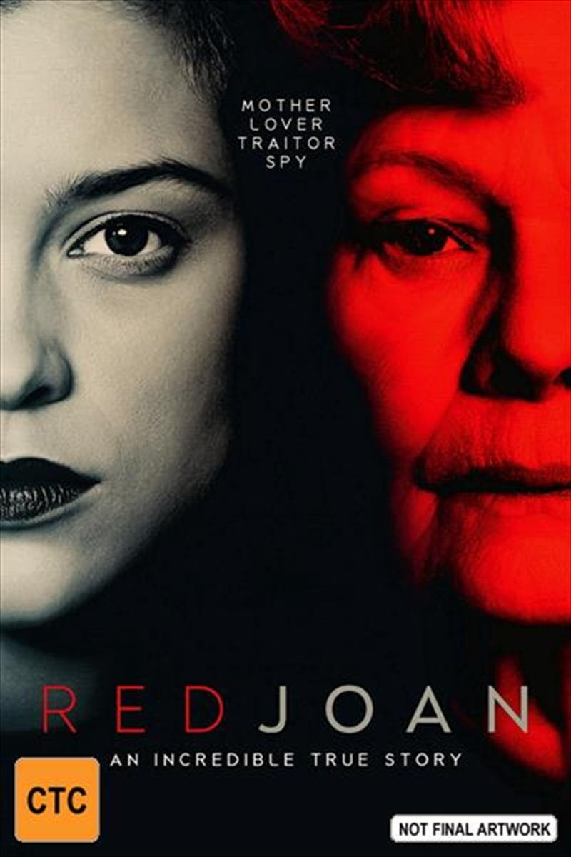 Red Joan on DVD image