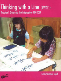 Thinking with a Line (TWAL): Teacher's Guide to the Interactive CD-ROM by Cathy Weisman Topal image