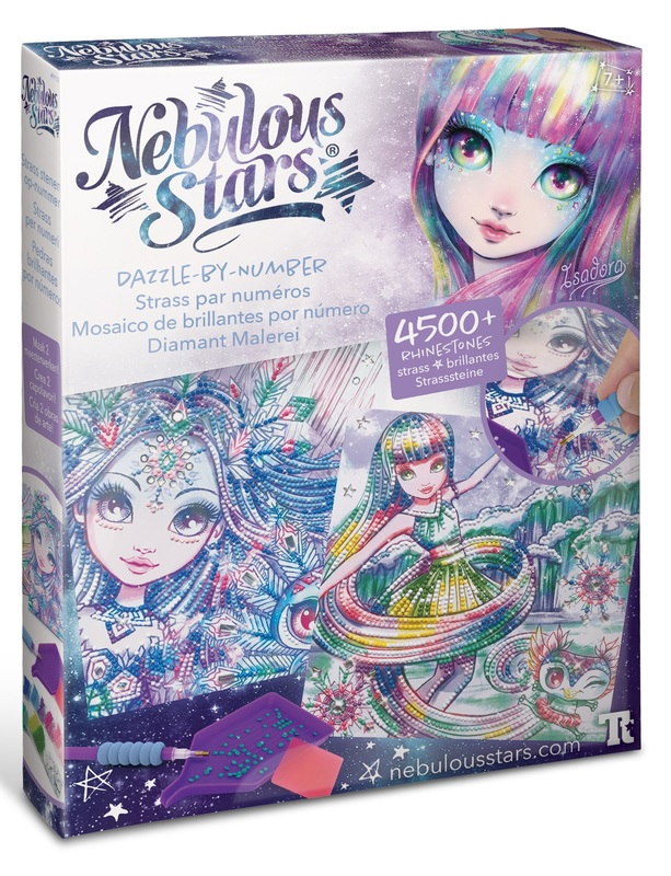 Nebulous Stars: Dazzle by Number (Isadora) - Creative Art Kit