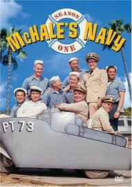 McHale's Navy - Season 1 (5 Disc Box Set) on DVD image