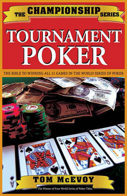 Championship Tournament Poker by Tom McEvoy image