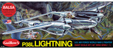 P38L Lightning 1:16 Balsa Model Kit