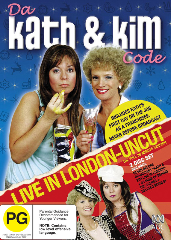 Da Kath And Kim Code / Live In London - Uncut (2 Disc Set) on DVD