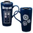 Doctor Who Heat Reactive Ceramic Travel Mug (590ml)