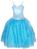 Pink Poppy: Snowflake Princess Dress 5/6 - Blue
