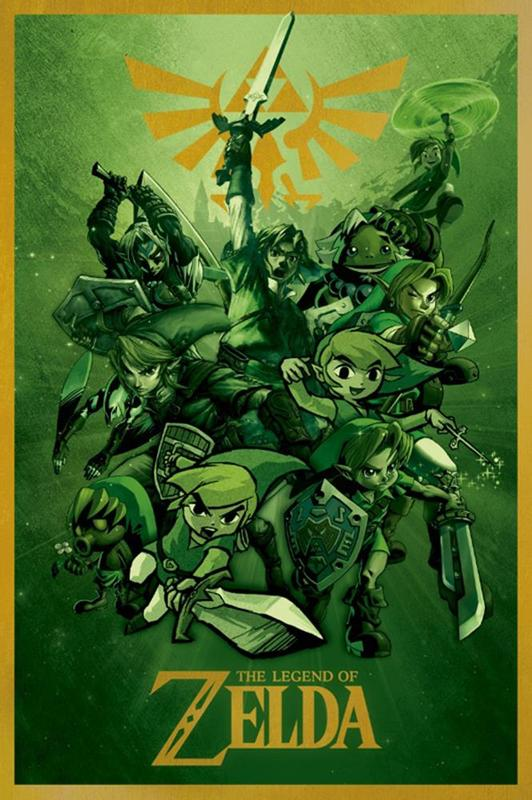 The Legend Of Zelda - Link Maxi Poster (324)