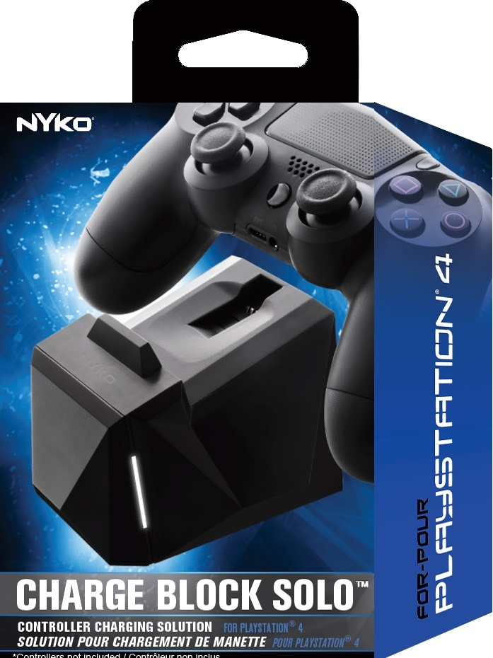 Nyko PS4 Charge Block Solo for PS4 image
