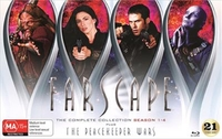 Farscape The Complete Series Blu Ray Collection (inc. Peacekeeper Wars) on Blu-ray