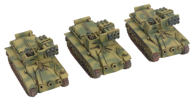 Flames of War: German Kleinpanzer Wanze (x3)