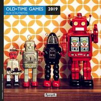 Aquarupella: Old Time Games 2019 Mini Wall Calendar
