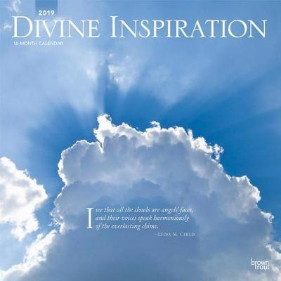 Divine Inspiration 2019 Square by Inc Browntrout Publishers image