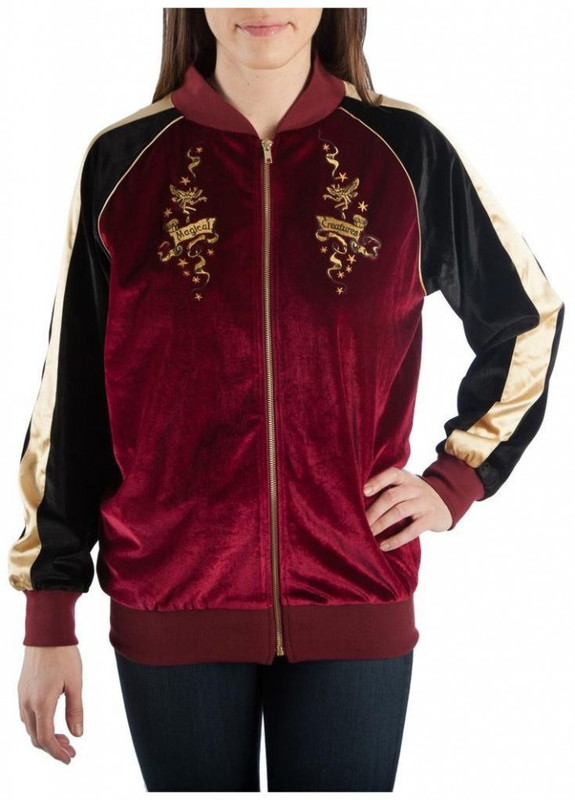 Harry Potter Magical Creatures Bomber Jacket: L