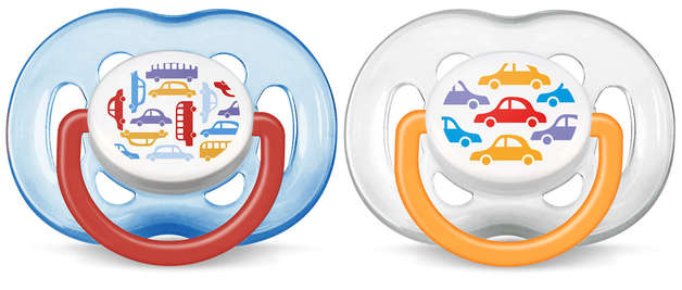 Philips Avent 6m+ Fashion Soother - Transport (2 Pack)