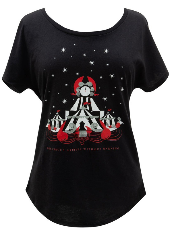 Out of Print: The Night Circus Women's Dolman Tee - M