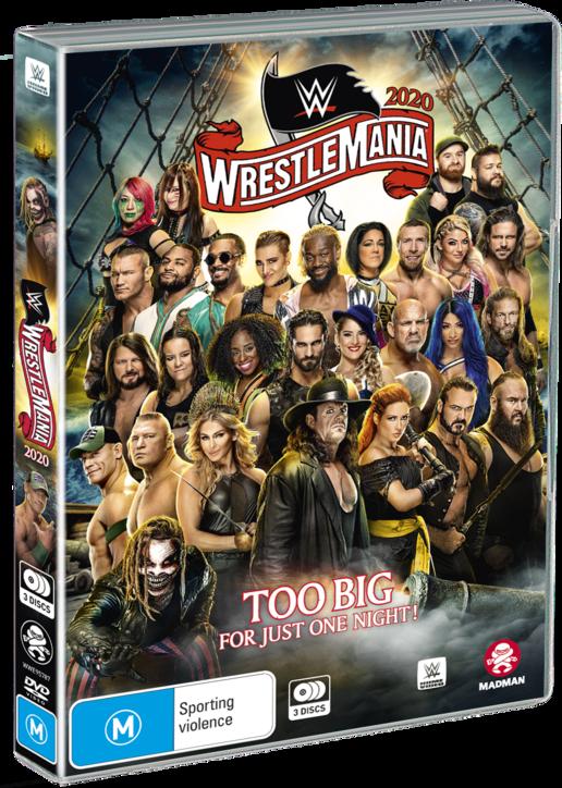 WWE: Wrestlemania - # 36 on DVD