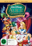 Alice in Wonderland: 60th Anniversary Edition DVD