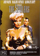 The Spoilers on DVD