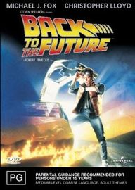 Back To The Future on DVD image