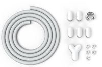 Bluelounge Soba Cable Director - White image