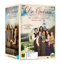 Dr Quinn Medicine Woman: The Ultimate Complete Collection (40 Disc Set) on DVD