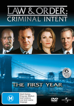 Law & Order - Criminal Intent: Year 1 (6 Disc Slimline Set) on DVD