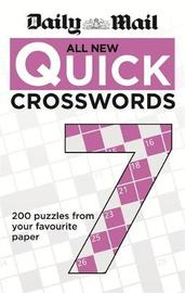 """Daily Mail All New Quick Crosswords 7 by """"Daily Mail"""""""