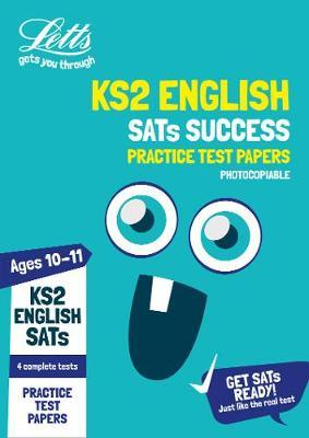 KS2 English SATs Practice Test Papers (Photocopiable edition) by Letts KS2 image