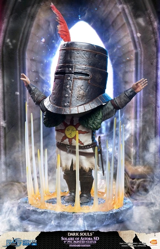 "Dark Souls: Solaire of Astora SD - 9"" PVC Statue"