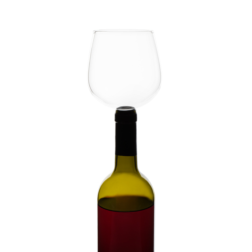 Glass Guzzle Buddy - Wine Bottle