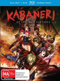 Kabaneri Of The Iron Fortress: Complete Series on DVD, Blu-ray