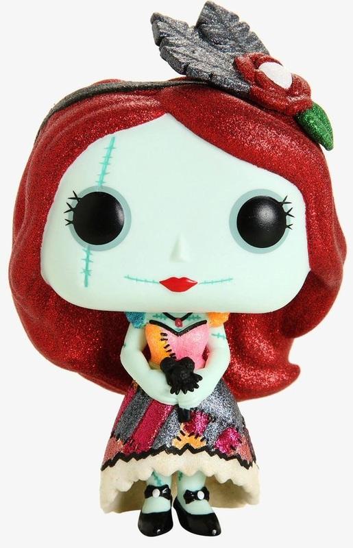 Nightmare Before Christmas: Dapper Sally (Diamond Glitter) - Pop! Vinyl Figure