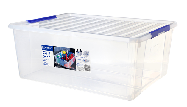 Sistema Large Storage Organiser Base & Lid (60L)