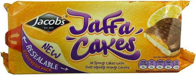 Jacob's Jaffa Cakes 147g 24pk