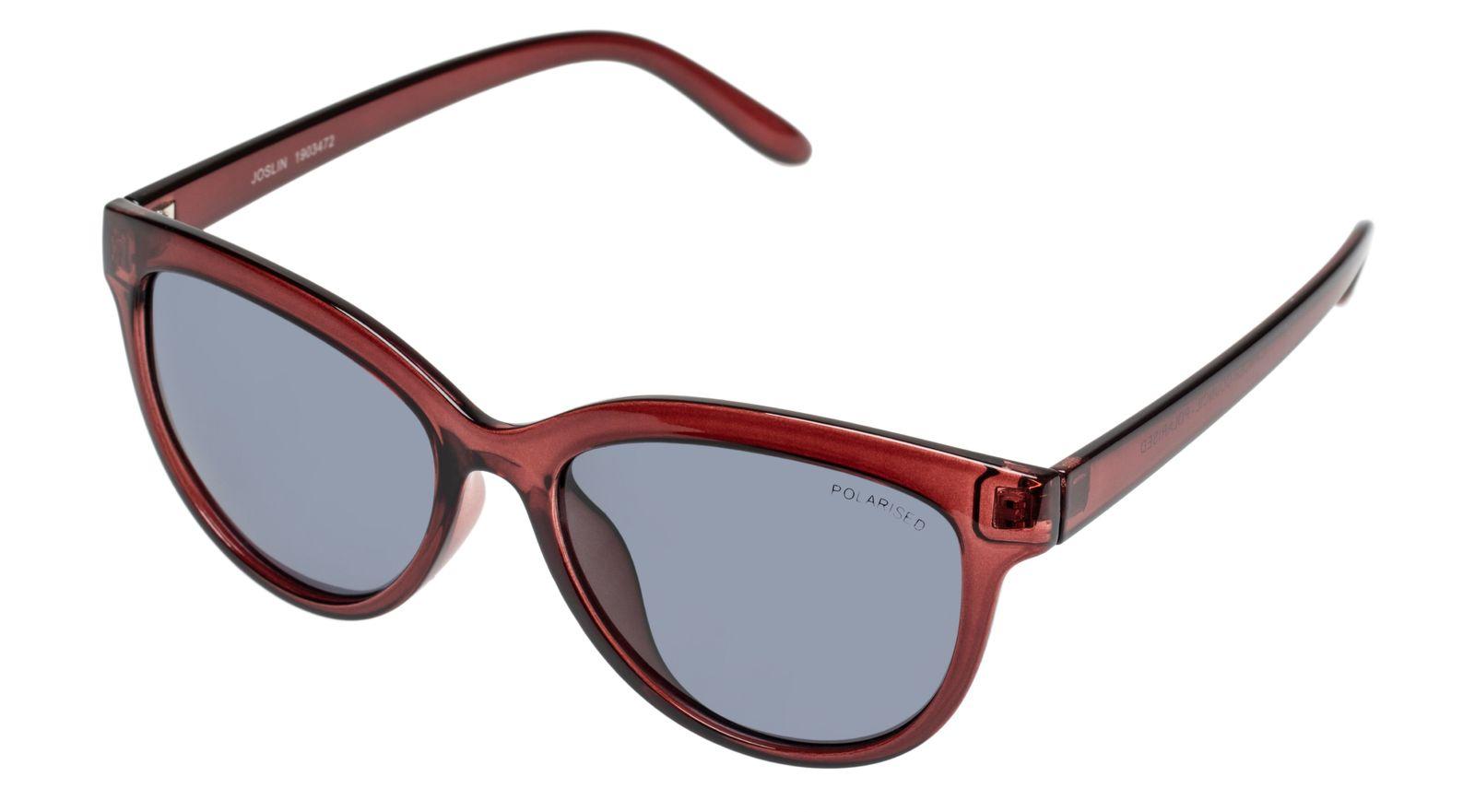 Joslin Sunglasses - Brown + Smoke Lens image