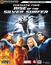"The ""Fantastic Four"": Rise of the Silver Surfer Official Strategy Guide by Jennifer Sims image"